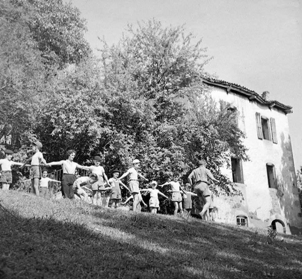La colonie de vacances de Montboissier