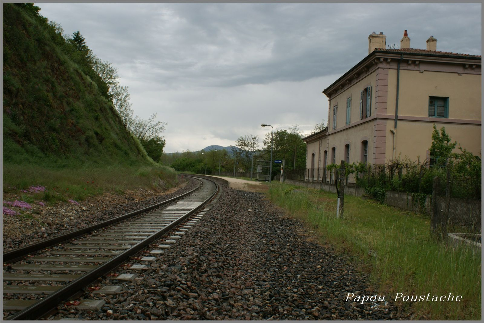 La gare de Lavoute sur Loire