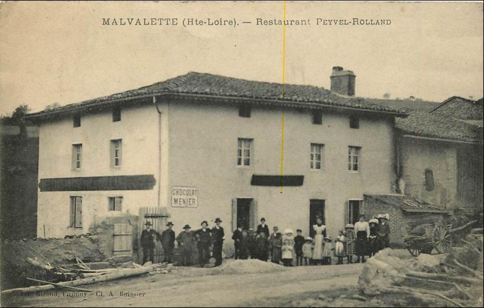 Village de Haute Loire:     Malvalette