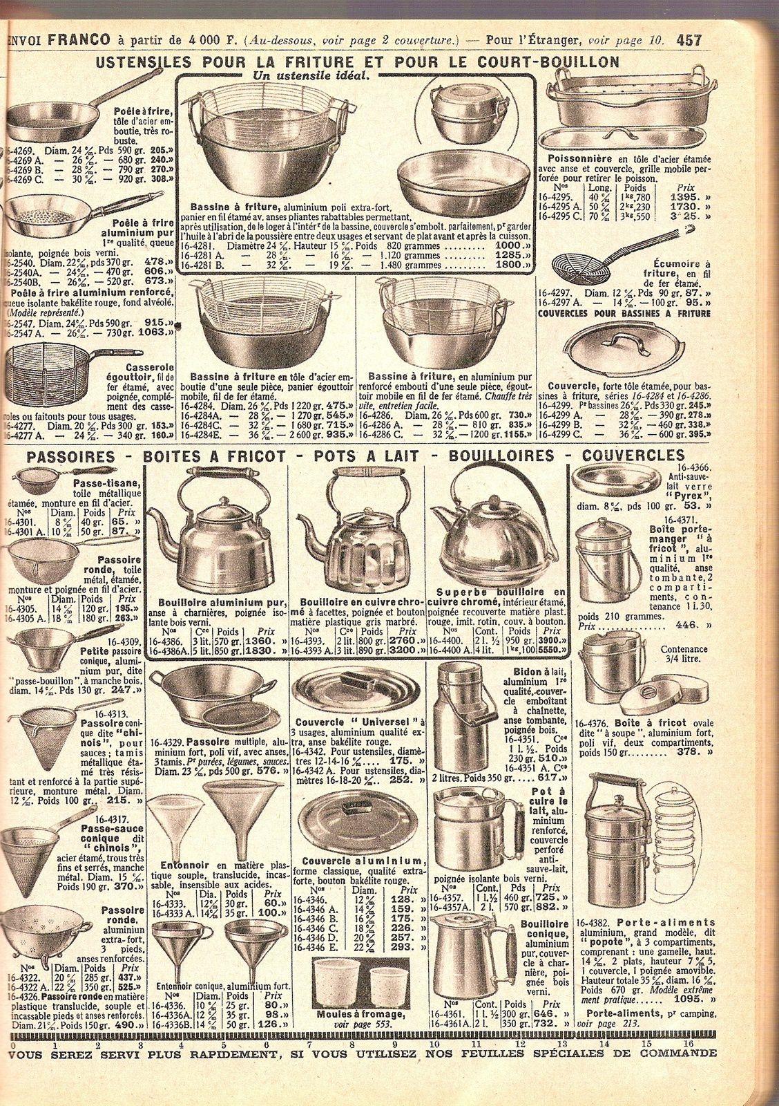 A Le catalogue Manufrance livre de chevet des Auvergnats
