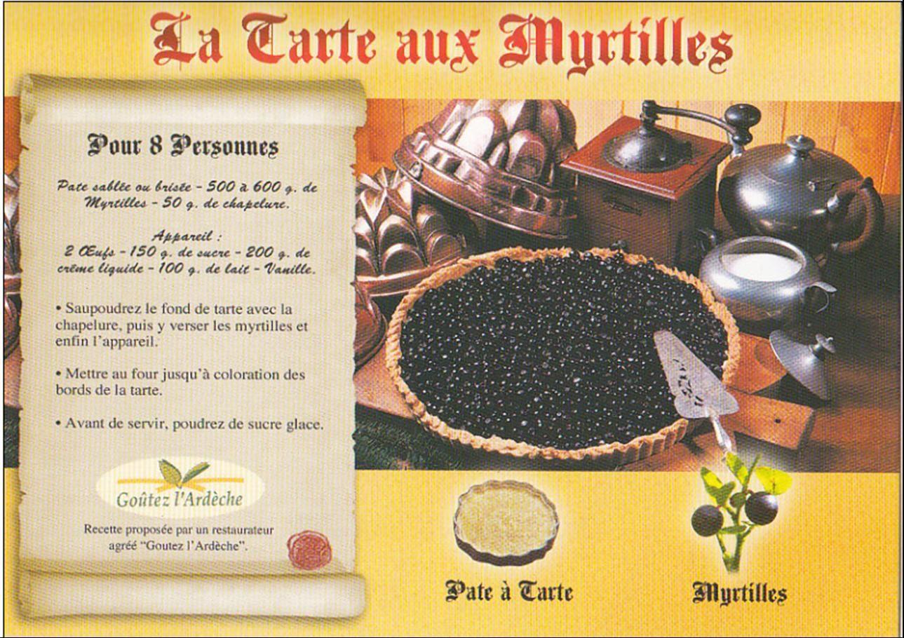 La tarte à la Myrtille