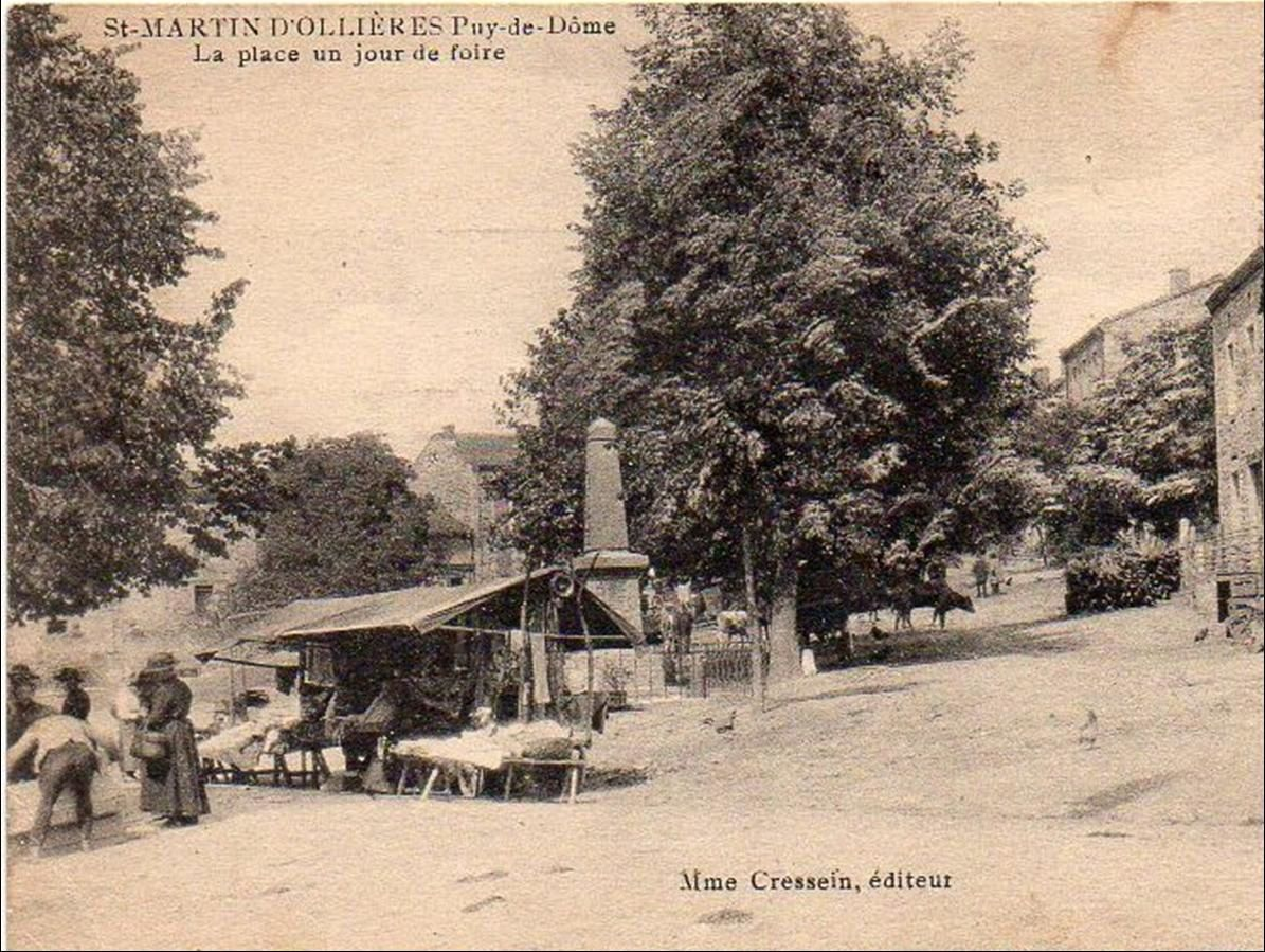 Les villages du puy de dome :St martin d'Ollières