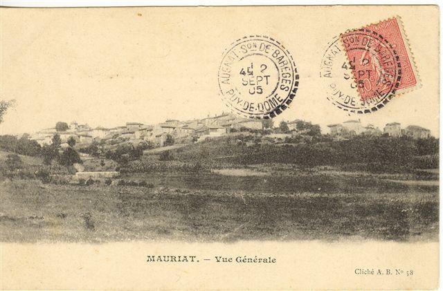 Les villages du Puy de Dome:Moriat