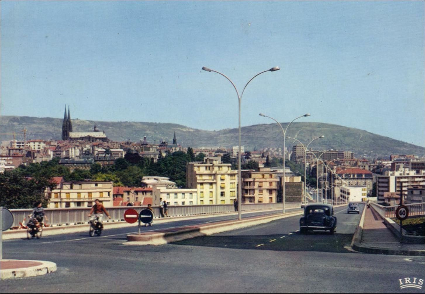 Clermont:Quartier Saint Jacques des années 50 aux années 70