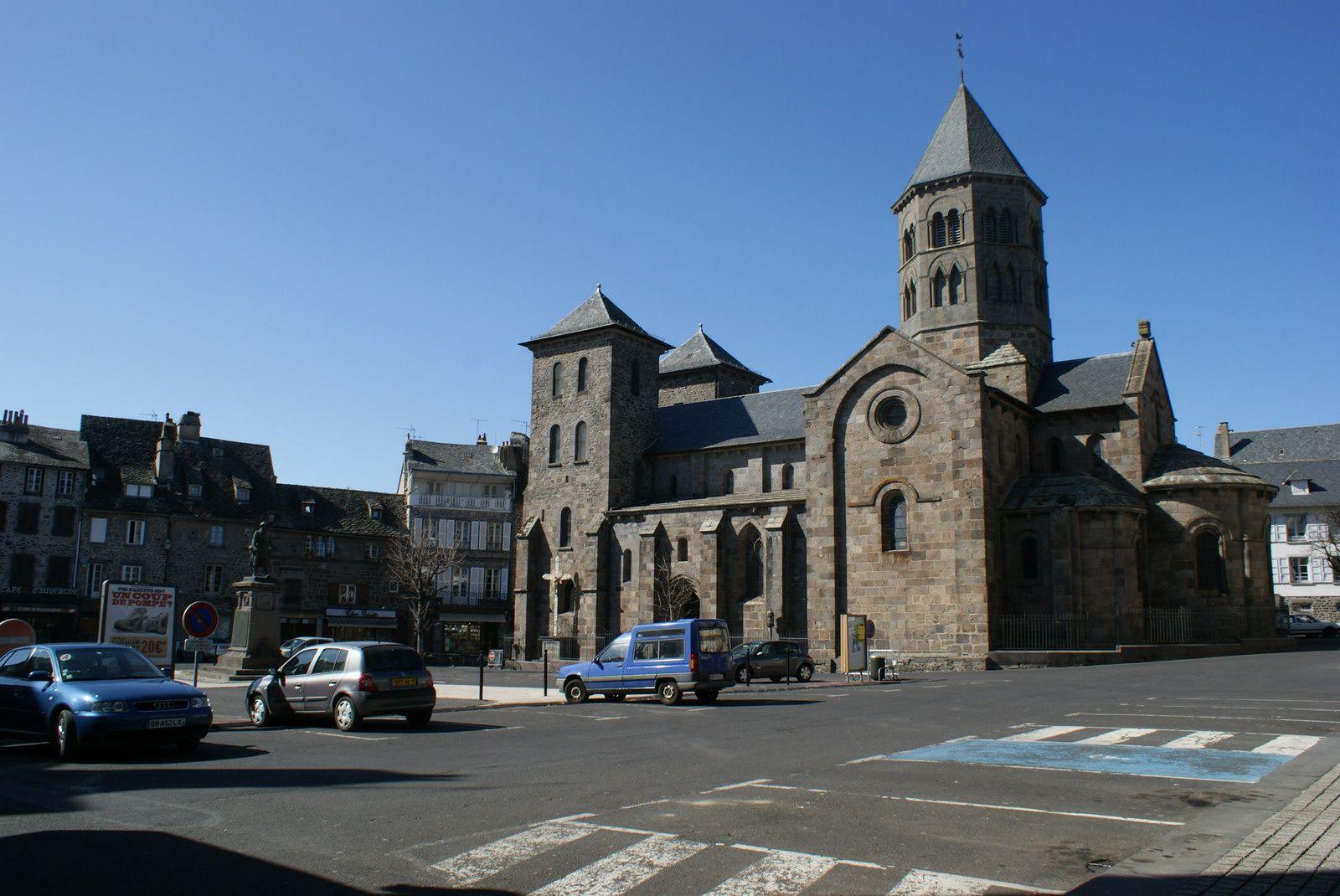 Les villes d'Auvergne: Mauriac (Cantal)