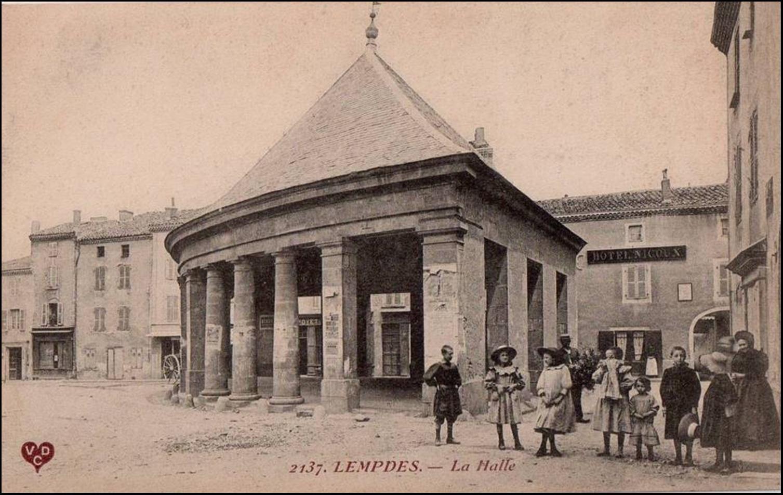 Le village de Lempdes en Haute-Loire