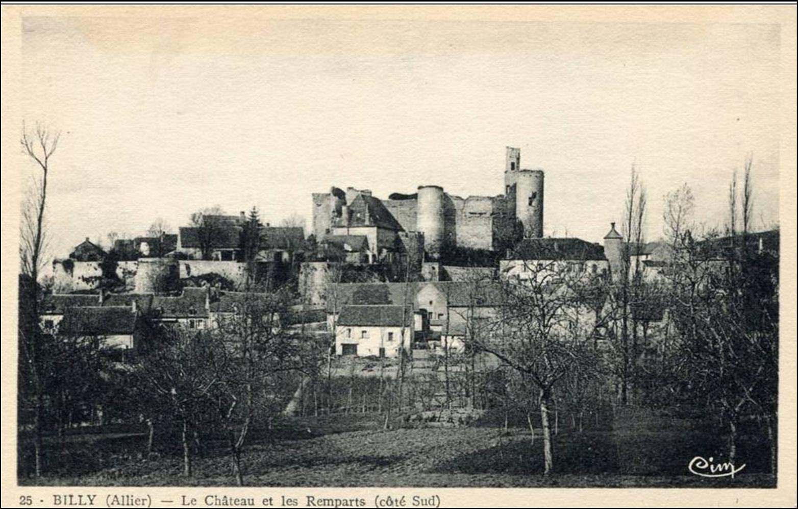 Les villages d'Auvergne: Billy dans l'Allier
