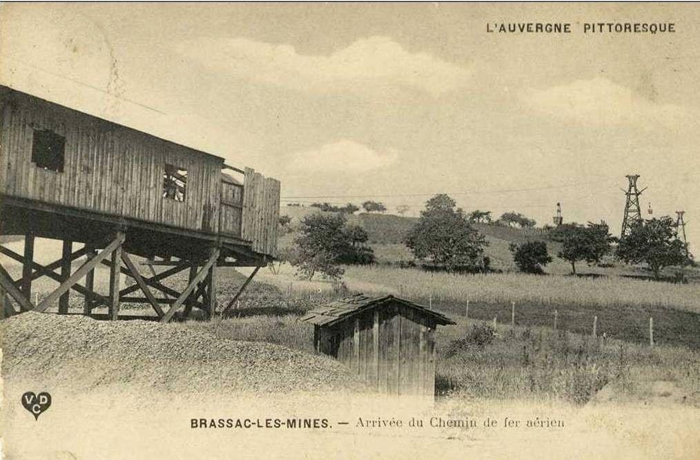 Les villages du Puy de Dome: Brassac-les-mines