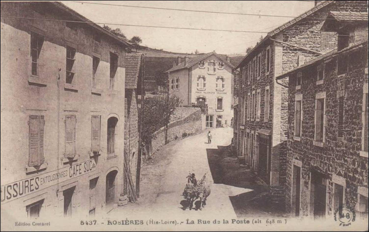 Les villages de Haute-Loire: Rosières