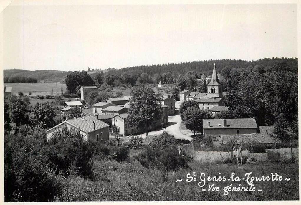 Colonie à saint Genès La Tourette