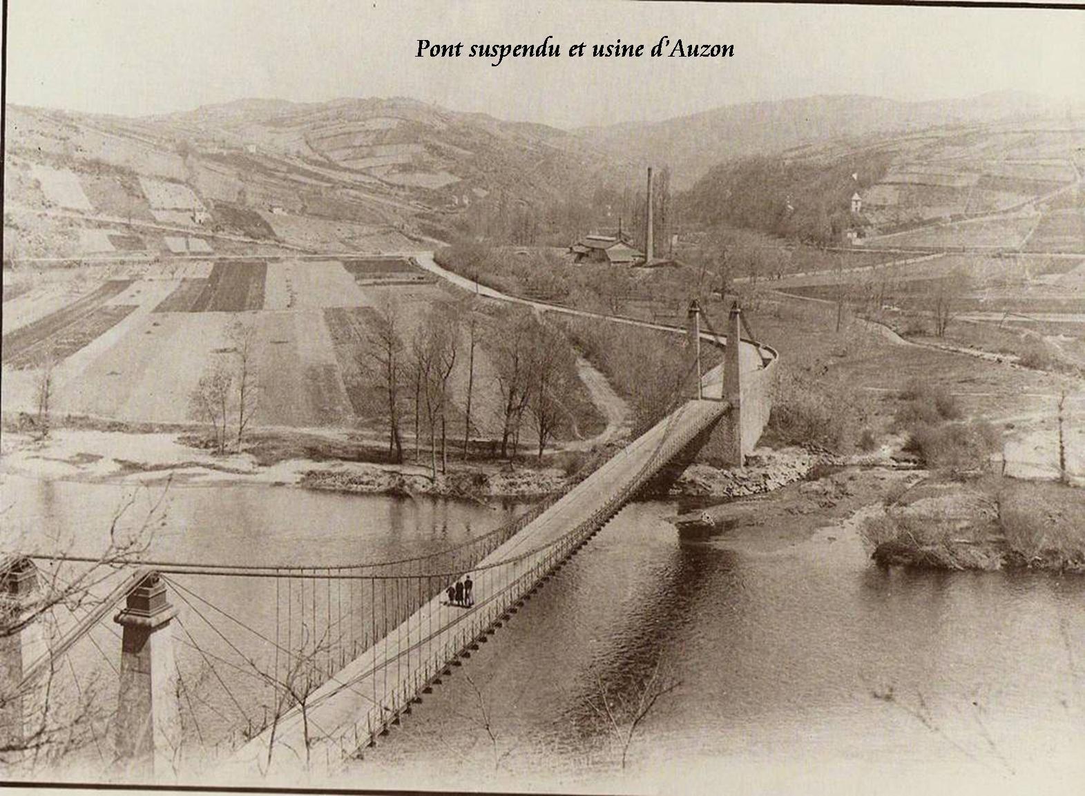 Les ponts à Auzon