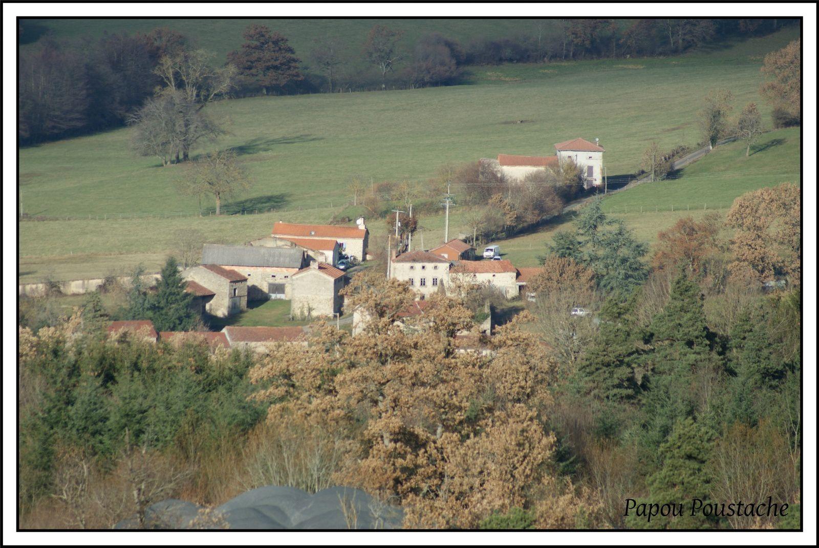 Les hameaux autour de Saint Jean des Ollières