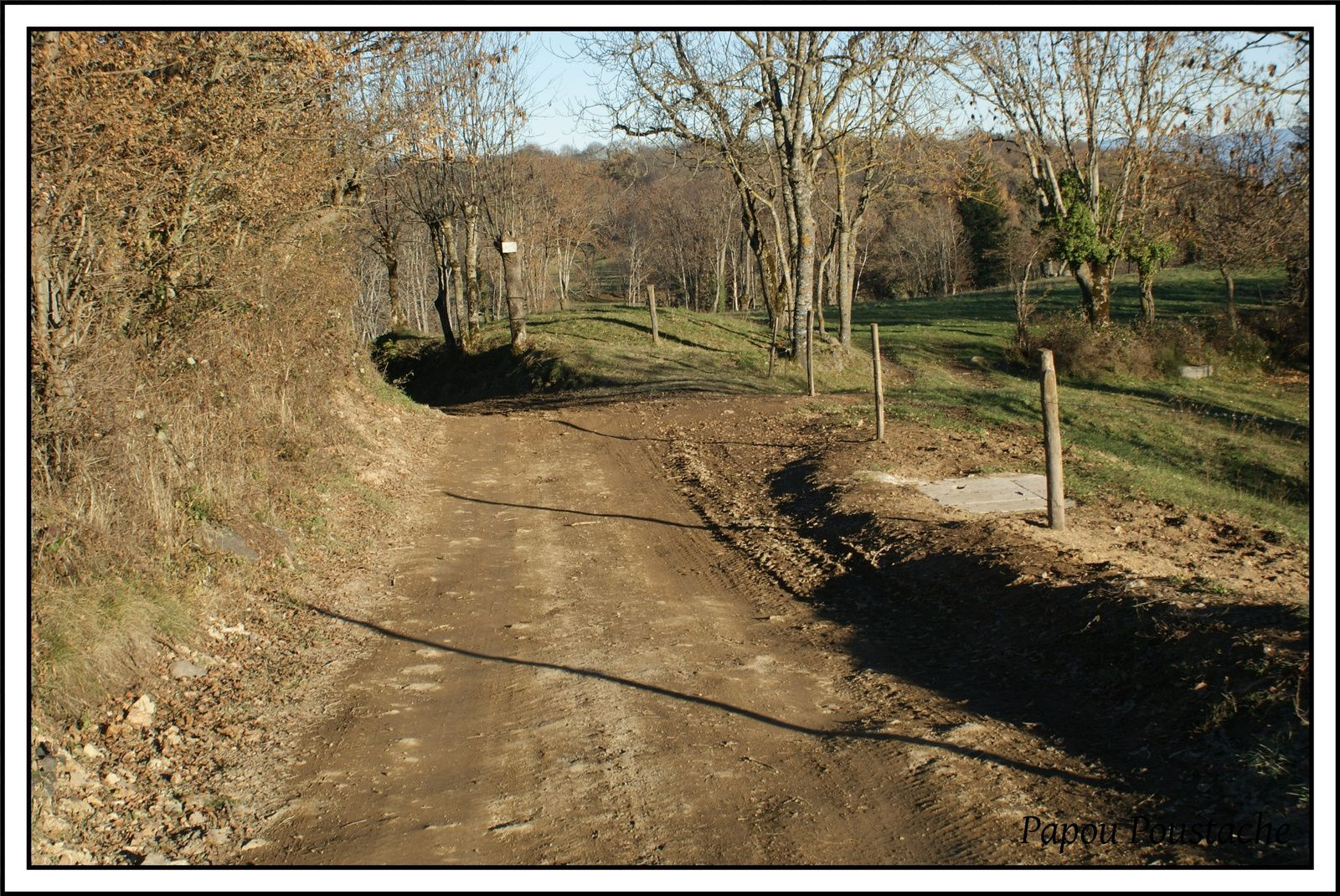 La voie romaine à Chamalières