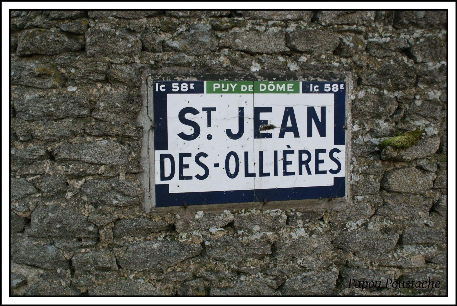 Quelques enseignes à St Jean des Ollières