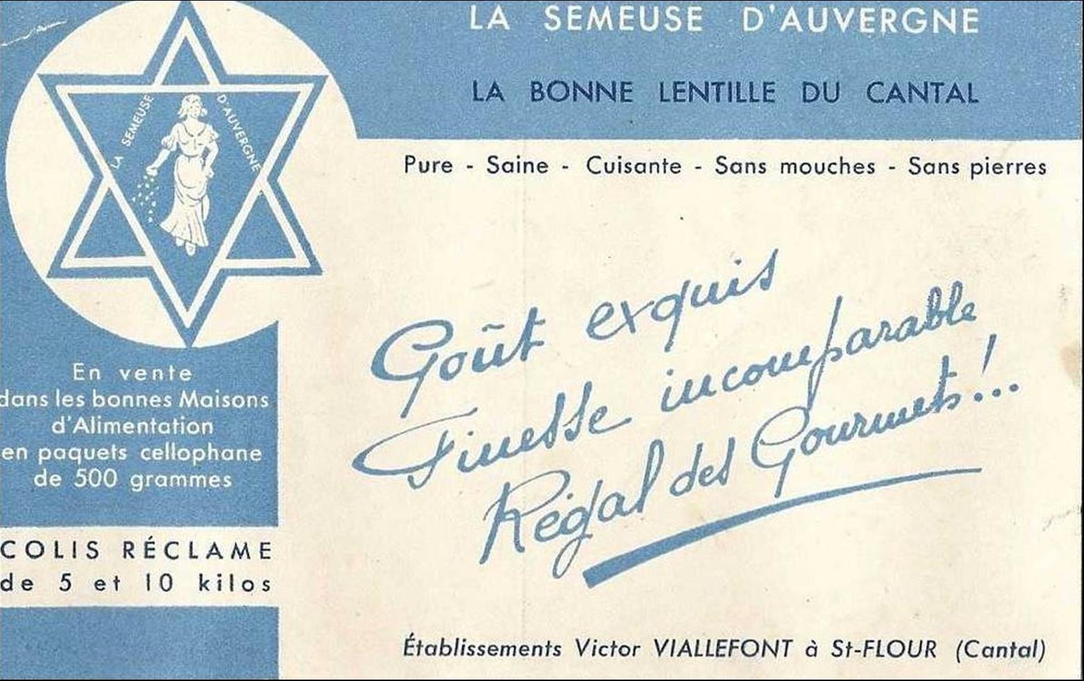 Tradition d'Auvergne: Le petit salé aux lentilles