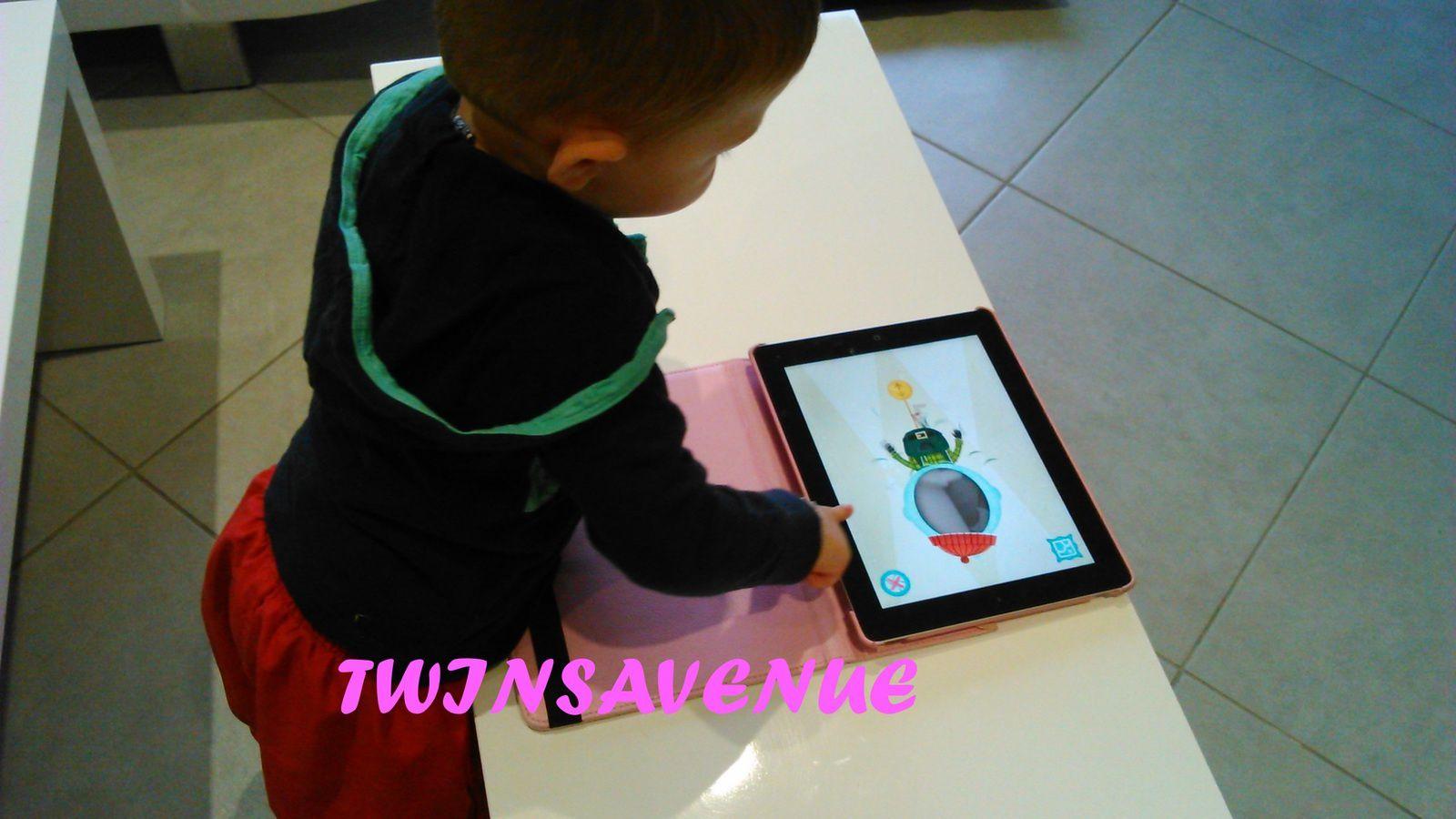 J'ai testé les appli' Kapu toys pour tout petits