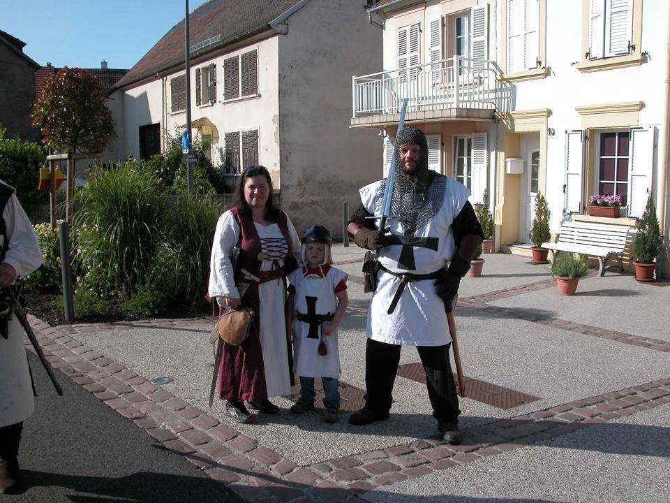 Fête médiévale de FRAUENBERG (Moselle)