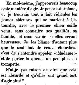 Les mémoires de Cigarette (1887) - Théodore Cahu.