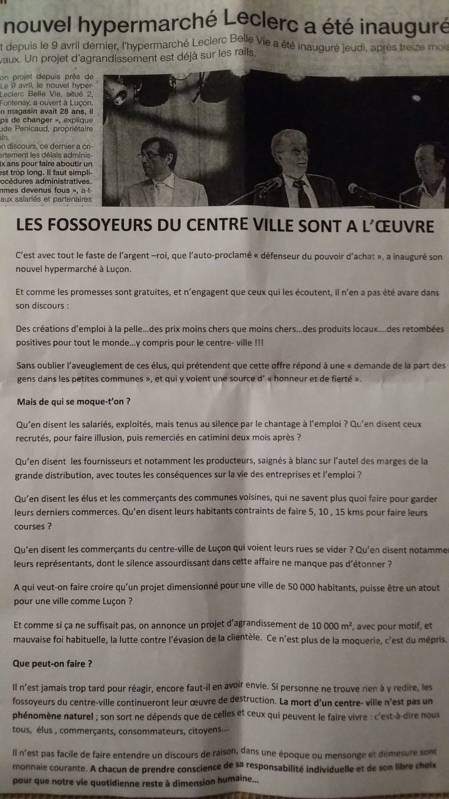 Tract anonyme