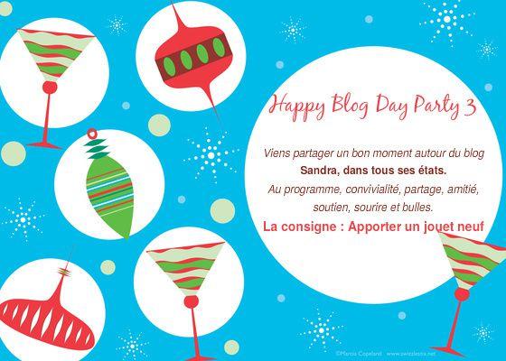 Happy Blog Day Party 3, c'est parti!