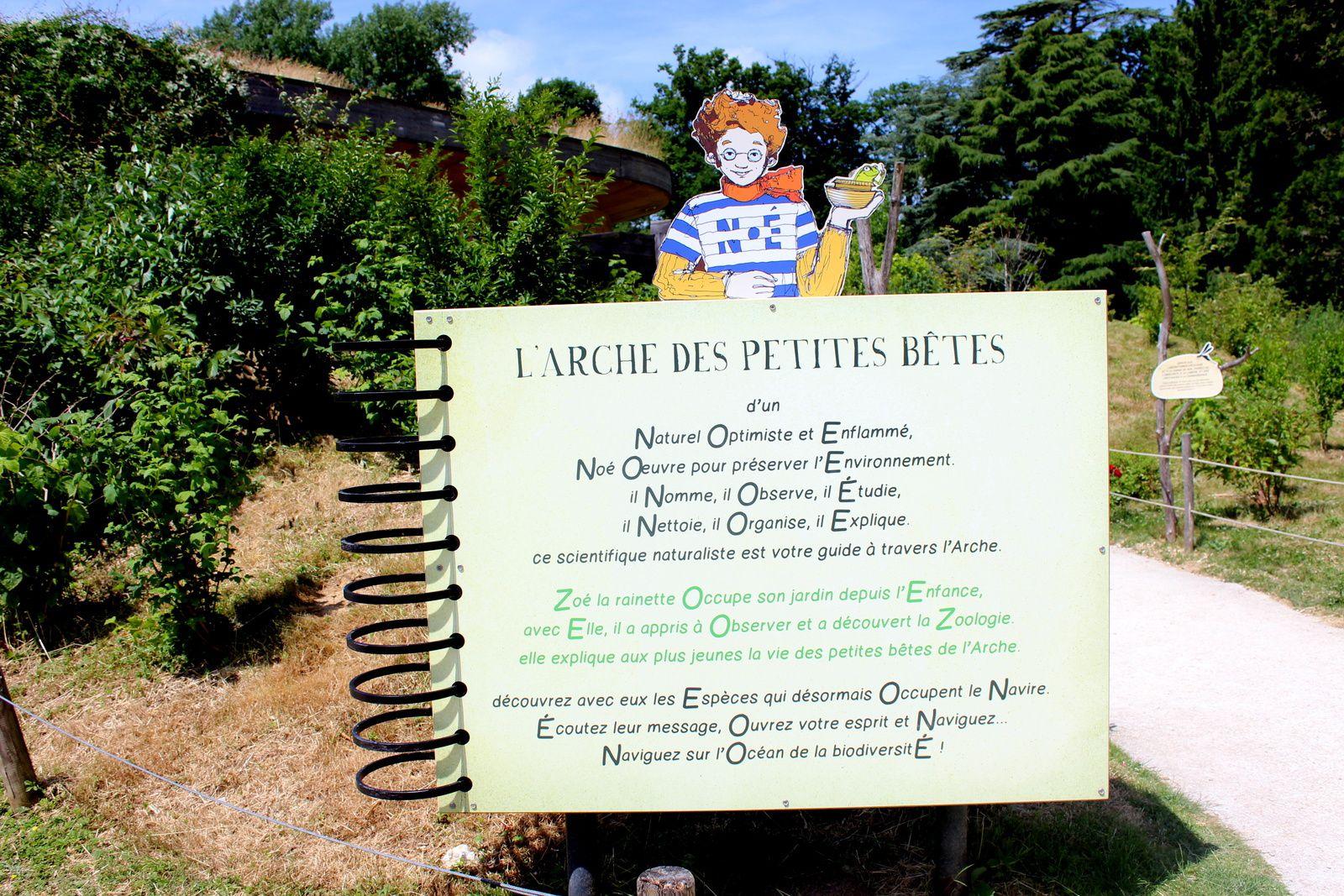 A la découverte du parc de Thoiry...