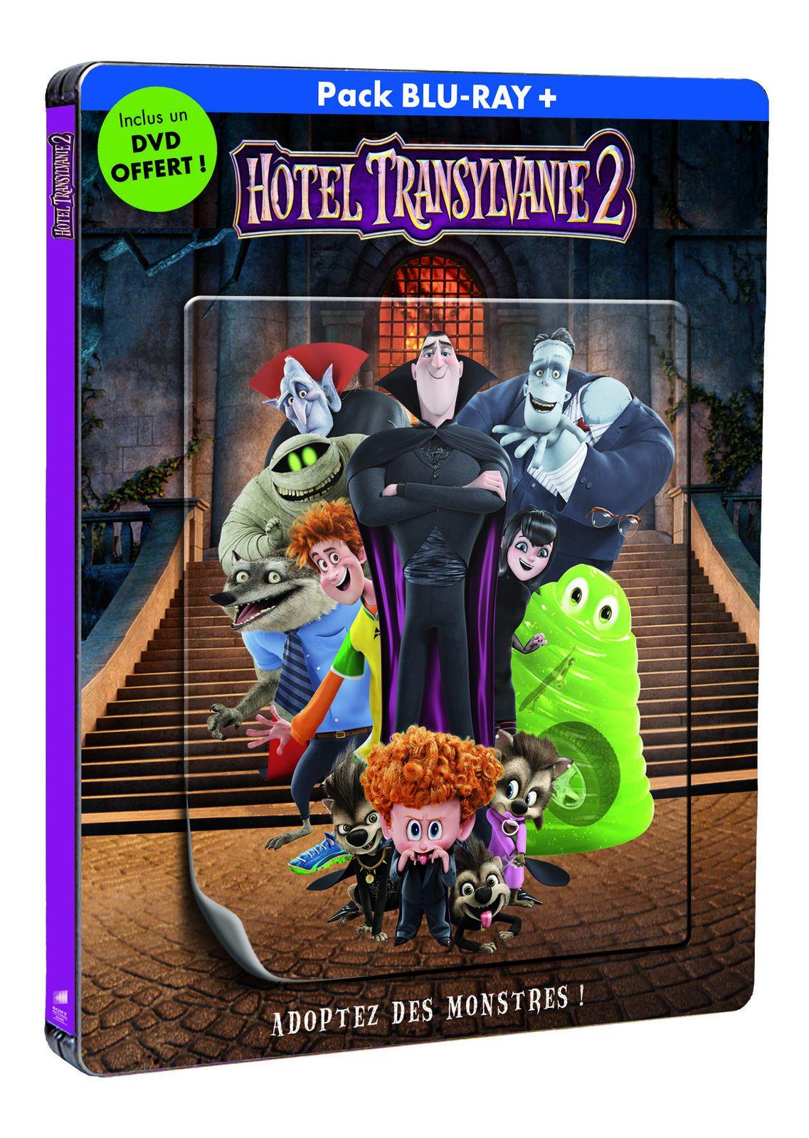 HÔTEL TRANSYLVANIE 2, en DVD, BLU-RAY et BLU-RAY 3D le 9 mars chez Sony Pictures Home Entertainment