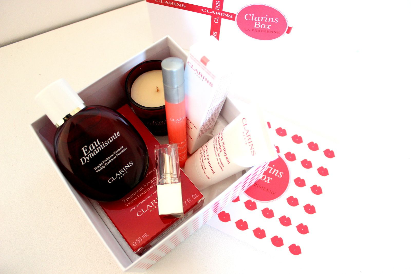 La Parisienne, la box by Clarins