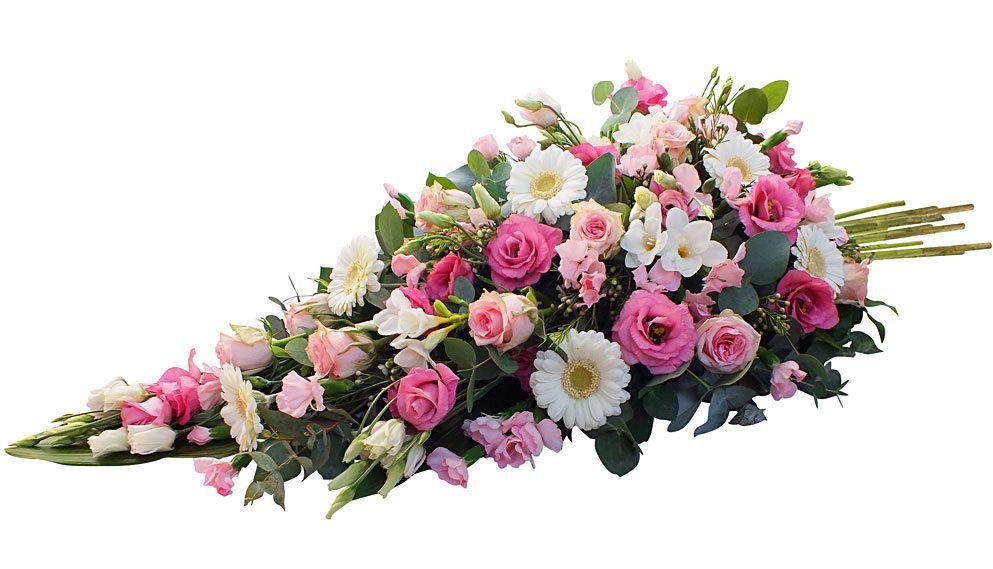 Gerbe piquée rose Janyflor