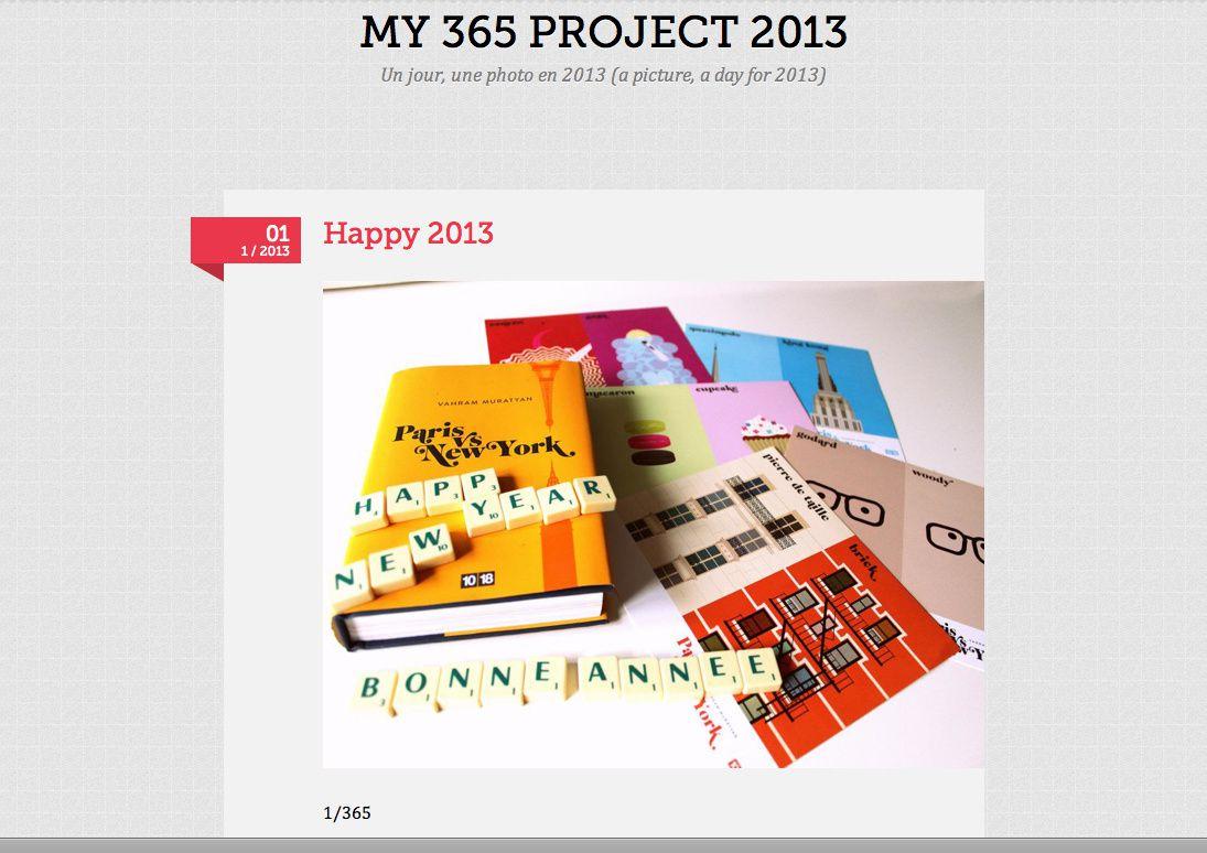 Projet 365 : un jour une photo en 2013