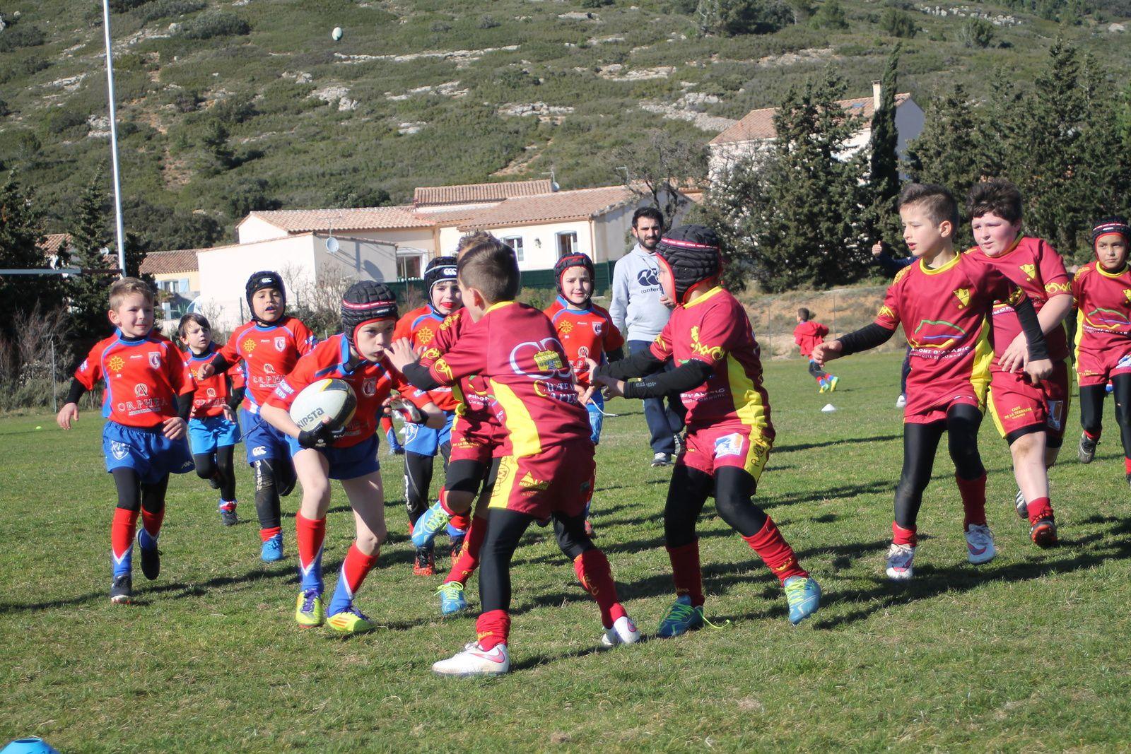 Plateau CORBIERES XV, Montredon, 14/03/2015, les M 8