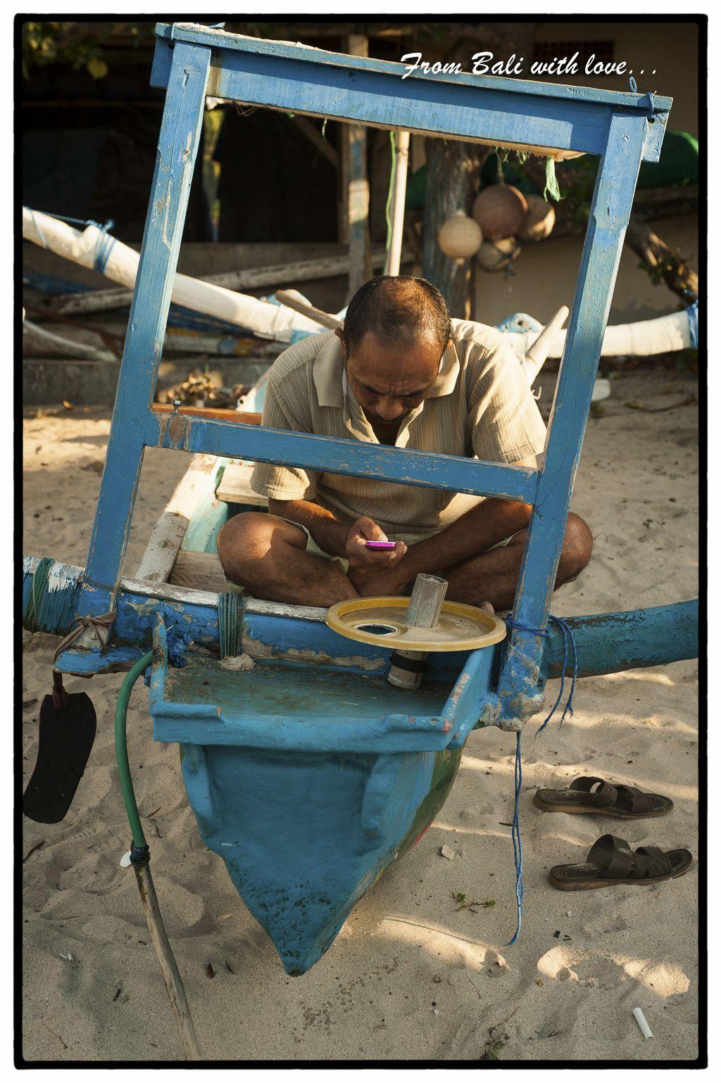 Bali-Take 3-Les bateaux de Padangbay.