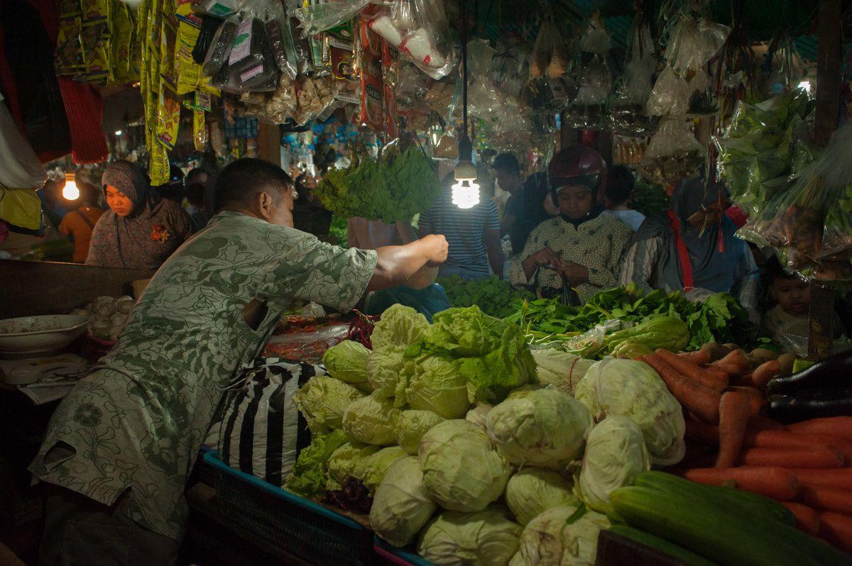 Klandasan - le marché - le retour