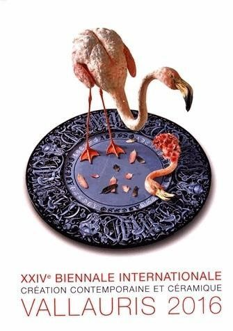 Catalogue XXIVème Biennale internationale. Création contemporaine et céramique. Vallauris 2016. Collectif. 29€