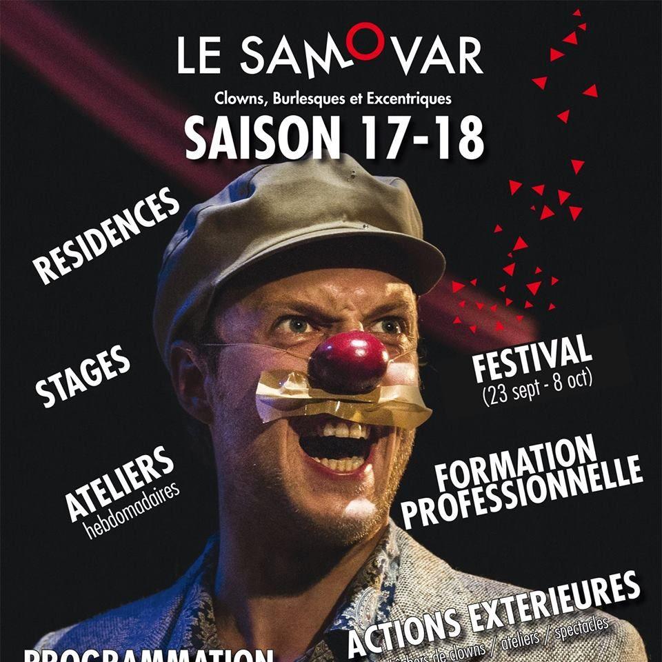 Festival REPORTE au PRINTEMPS!!!! Venez croiser les clowns du Samovar samedi après-midi dans le parc!