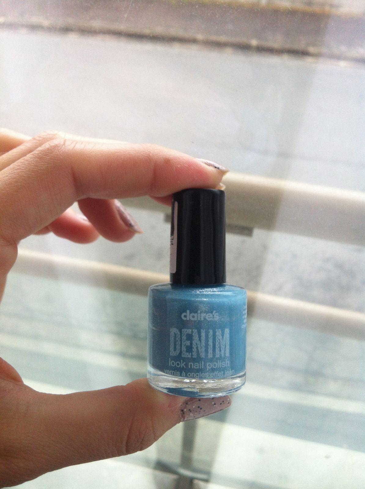 claire's Denim bleu clair