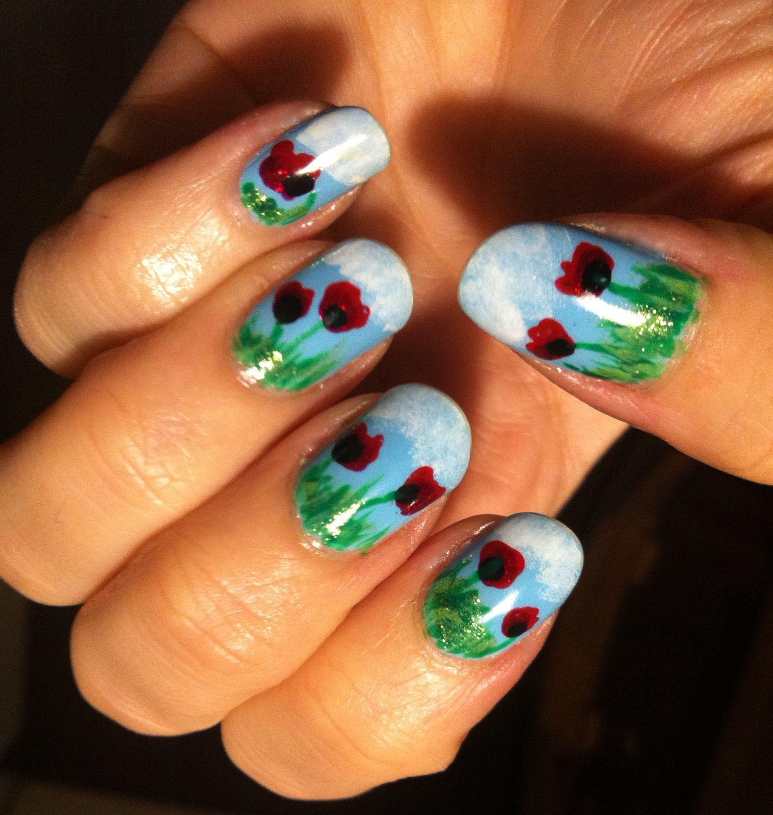 nailstorming flower power