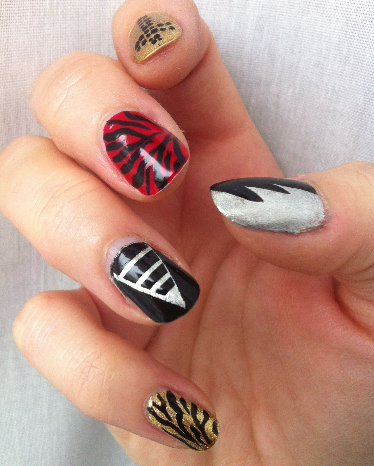 nailstorming rock n roll yeaaahh
