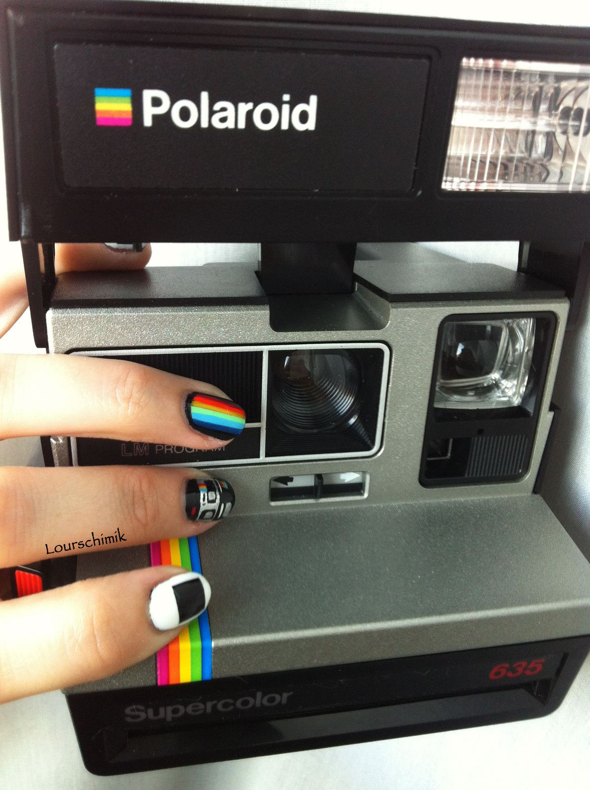 polaroid supercolor time !