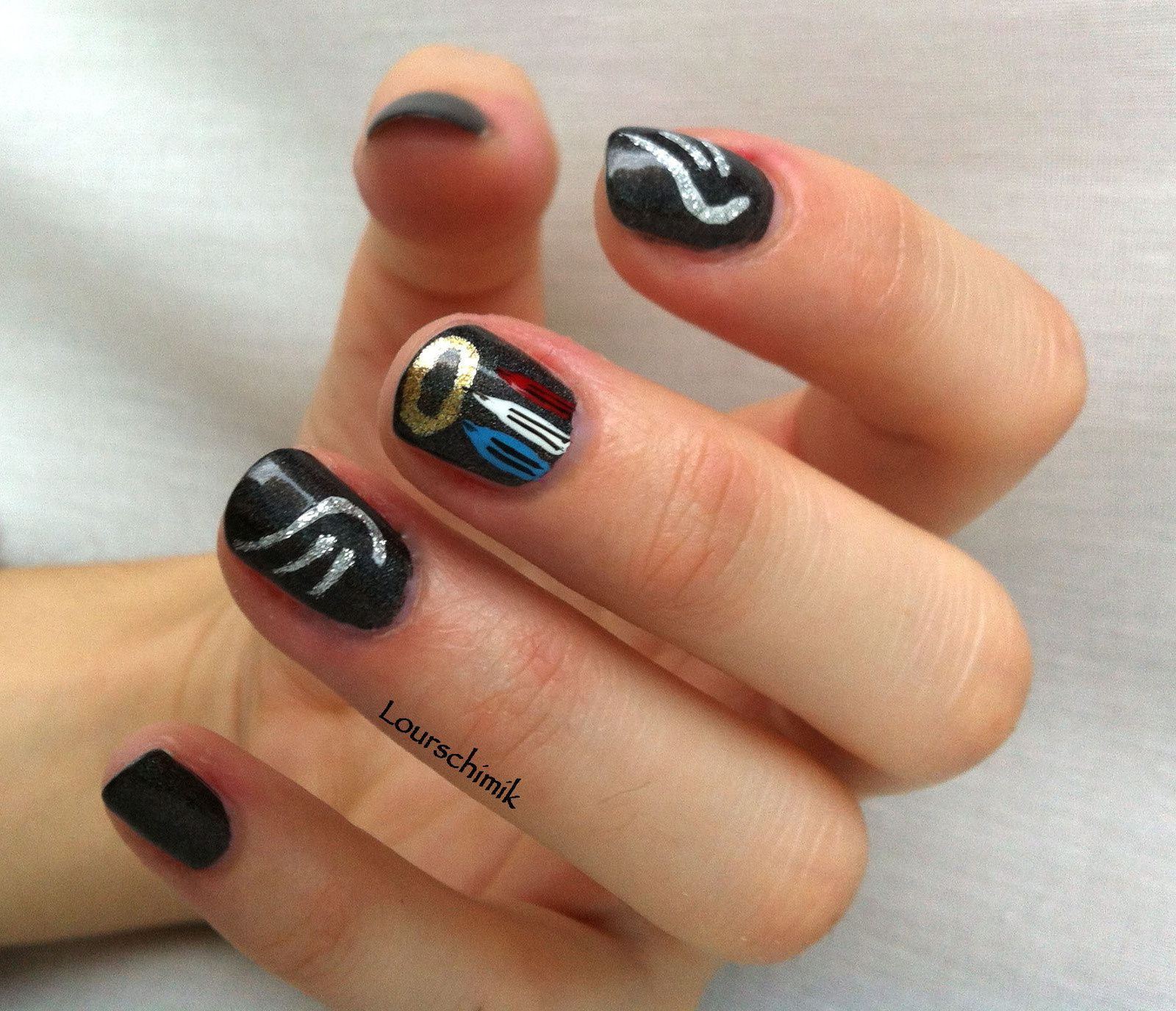 je suis charlie -nailstorming-