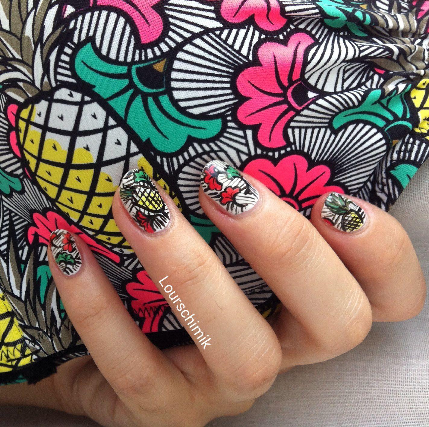 nailstorming fruits d'été