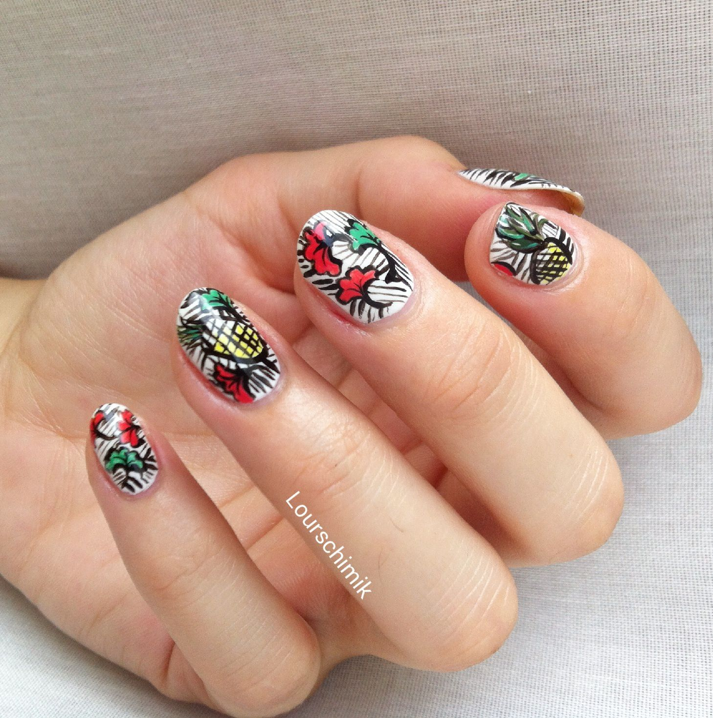 nailstorming fruits d'été