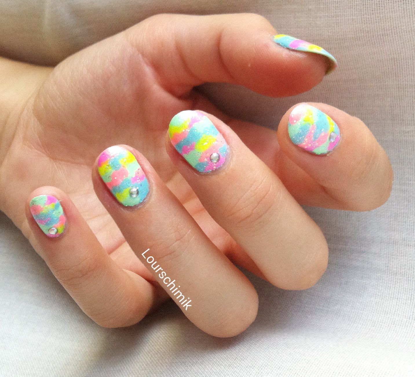 nailstorming army nails