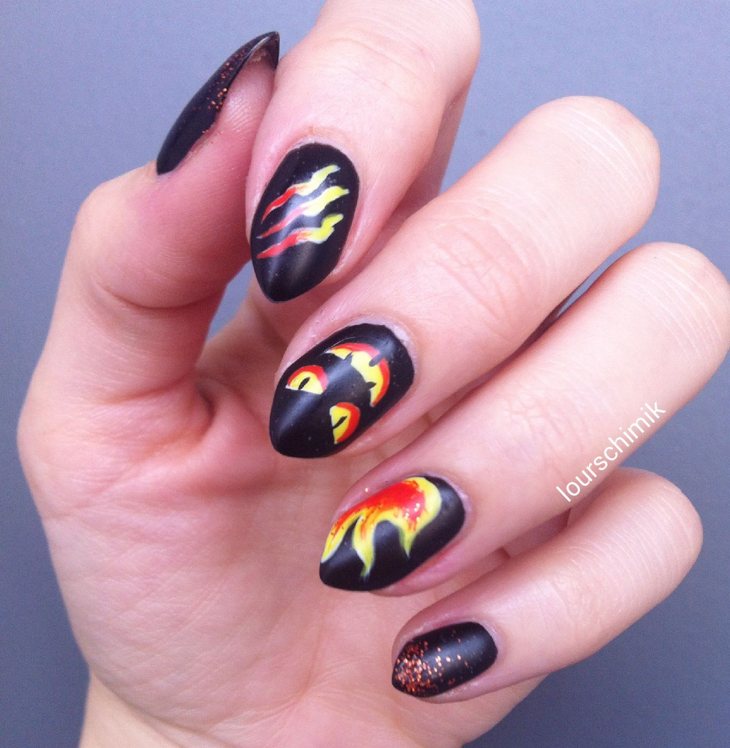 nail art halloween - part 3