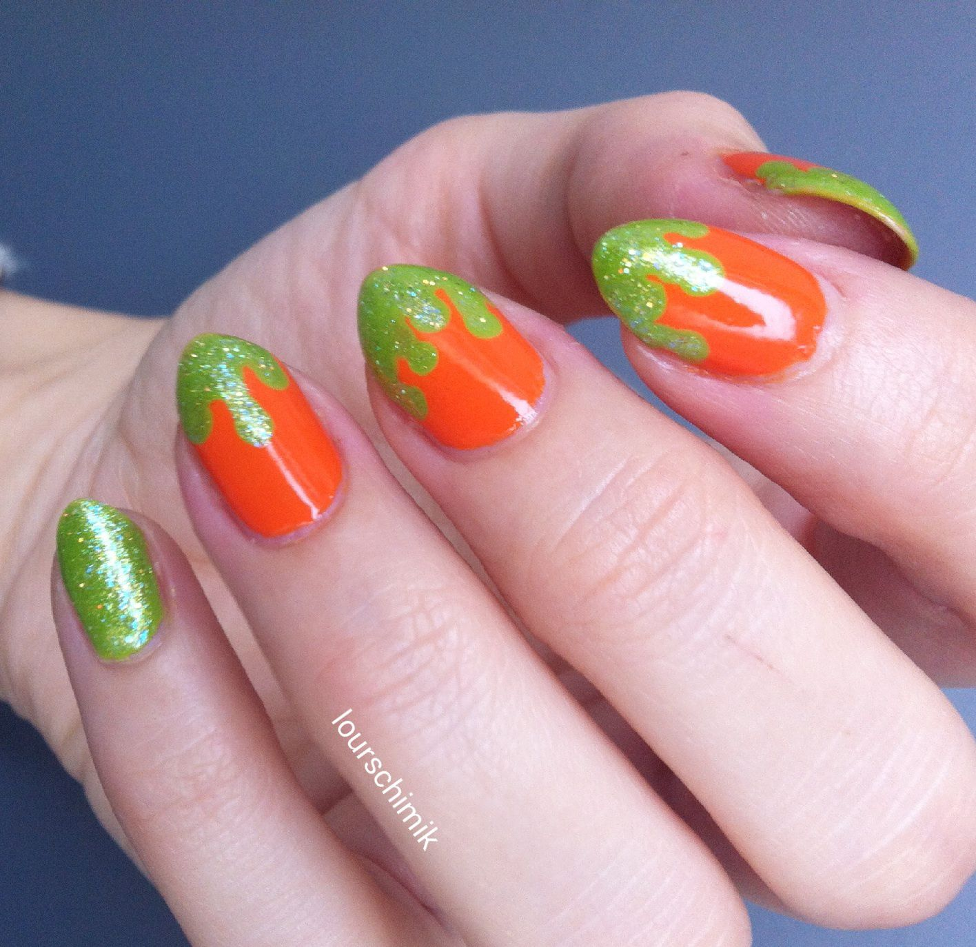 nail art halloween - part 1