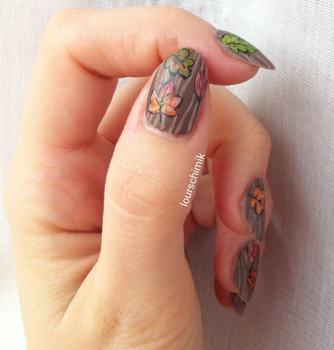 l'automne sur les doigts