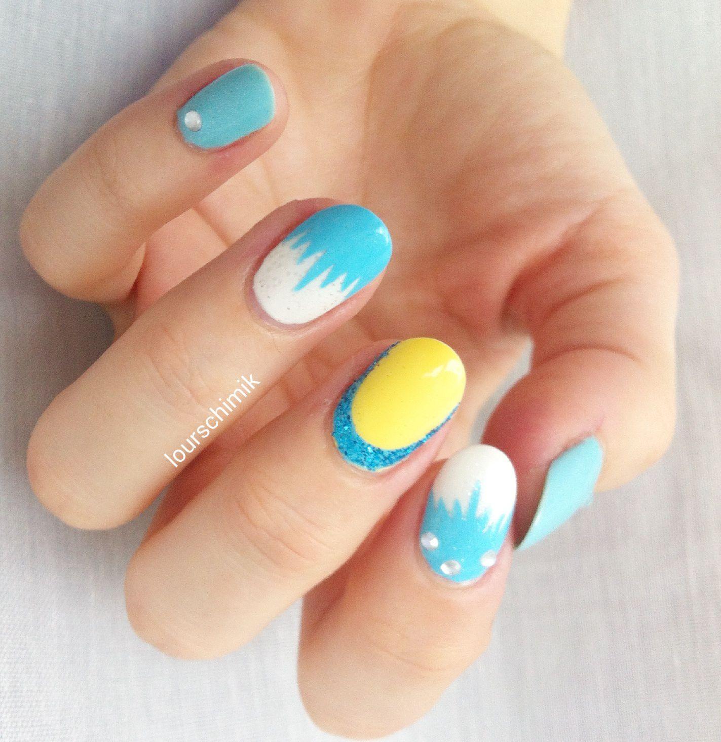 Disney nails - Elsa