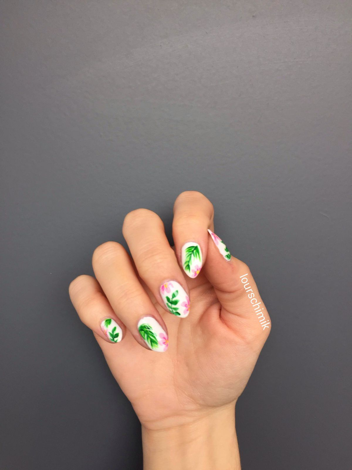 nail art jungle - tuto inside