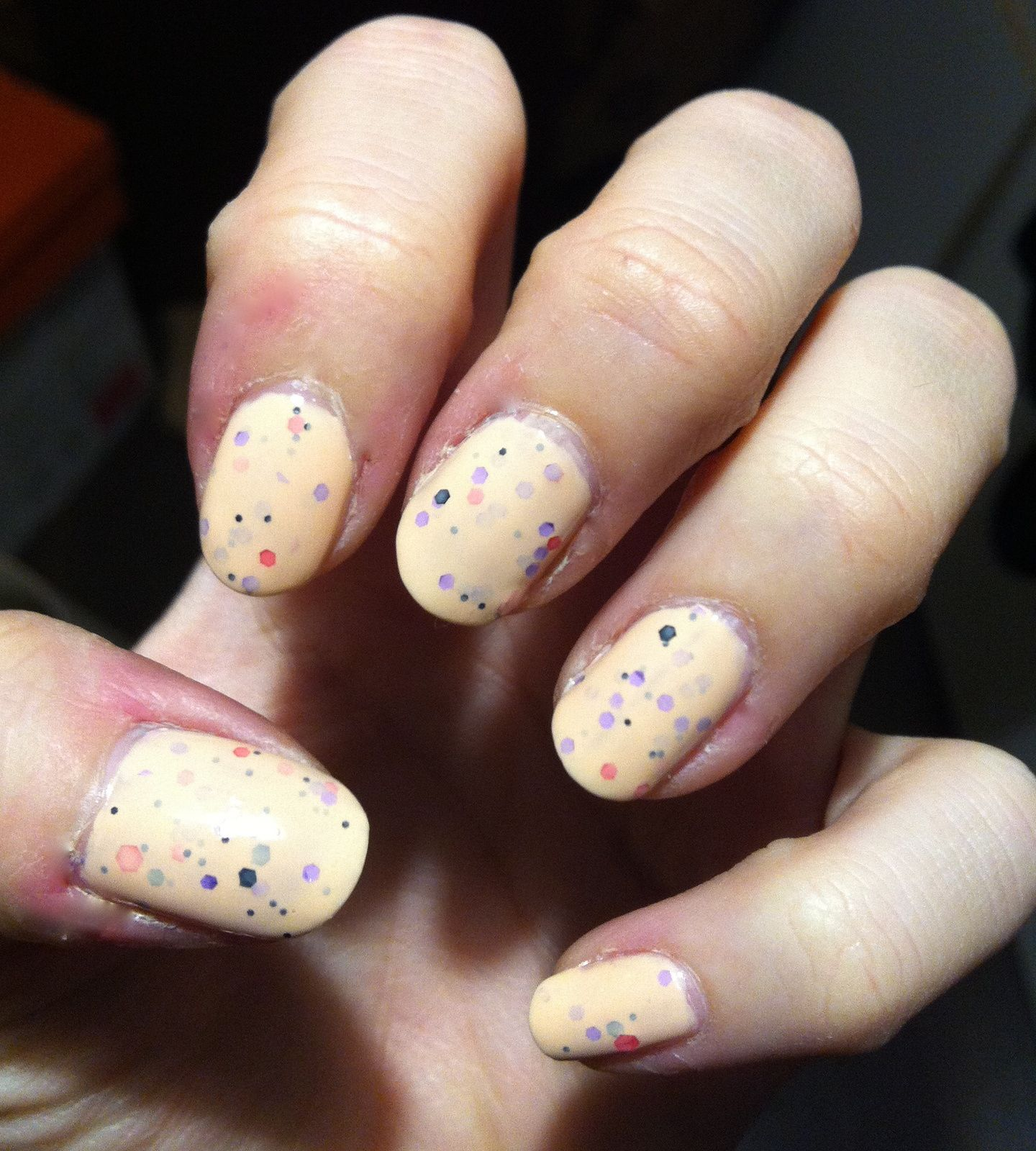 swatch yes love color speckled 4