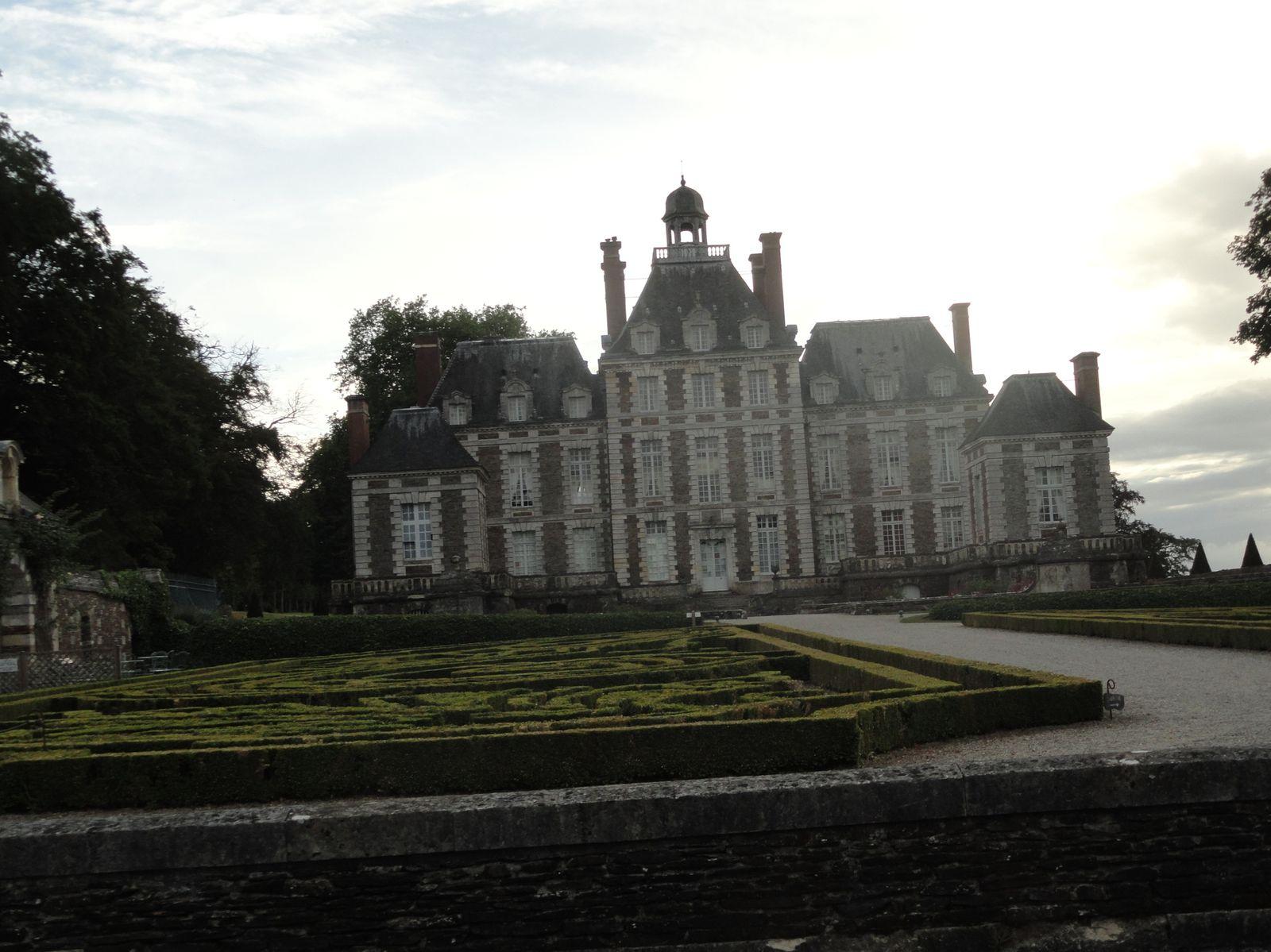 Chateau de Balleroy un jour de Septembre