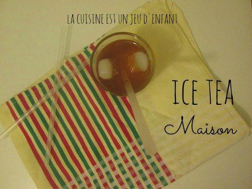 Ice tea maison
